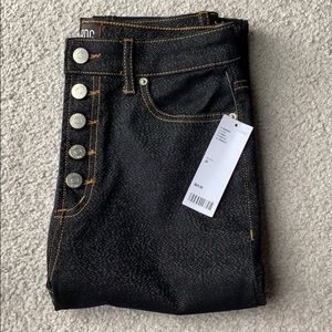 Urban Outfitters high waisted glitter jeans